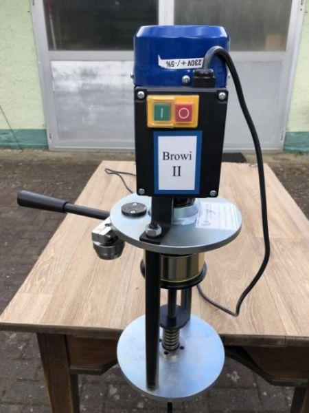 Elektrische Tisch-Dosenverschließmaschine BROWI 2