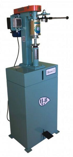 BROWI 1A - Elektrische Stand-Dosenverschließmaschine - Modell 2021