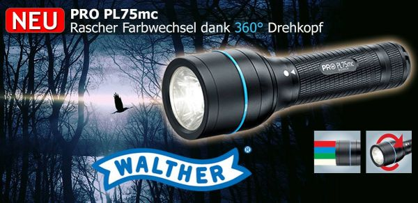Lampe Walther Pro PL75mc