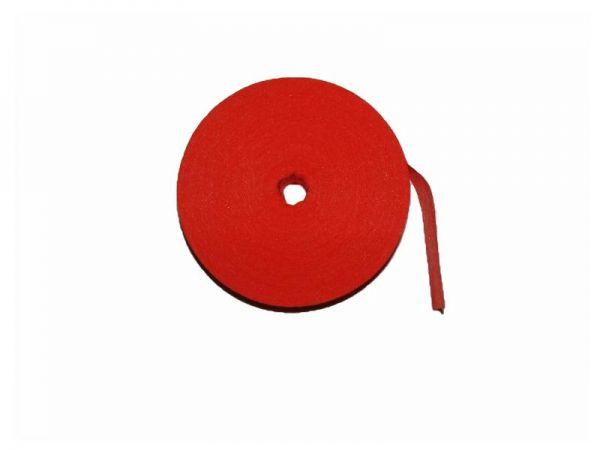 Fährtenmarkierungsband, rot